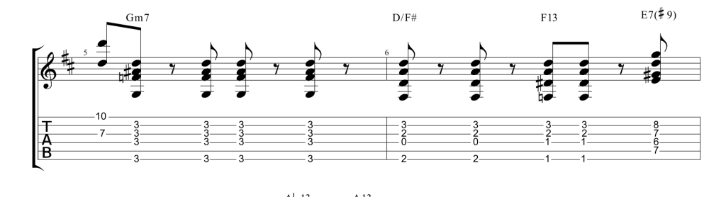 options – Custom Music Transcription | Custom Guitar Transcription