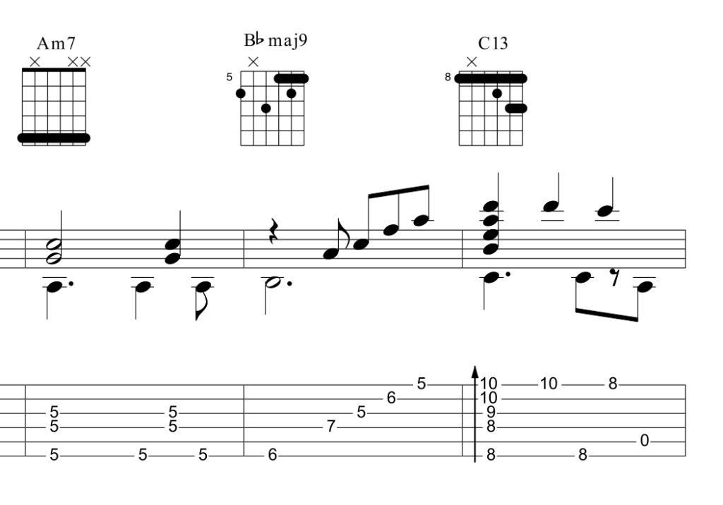 Options Custom Music Transcription Custom Guitar Transcription