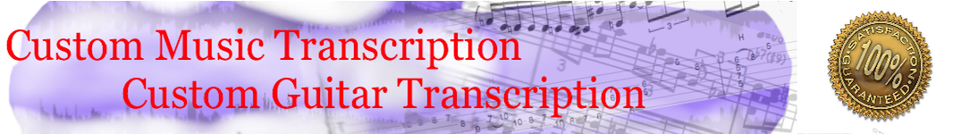 Music Transcription Service